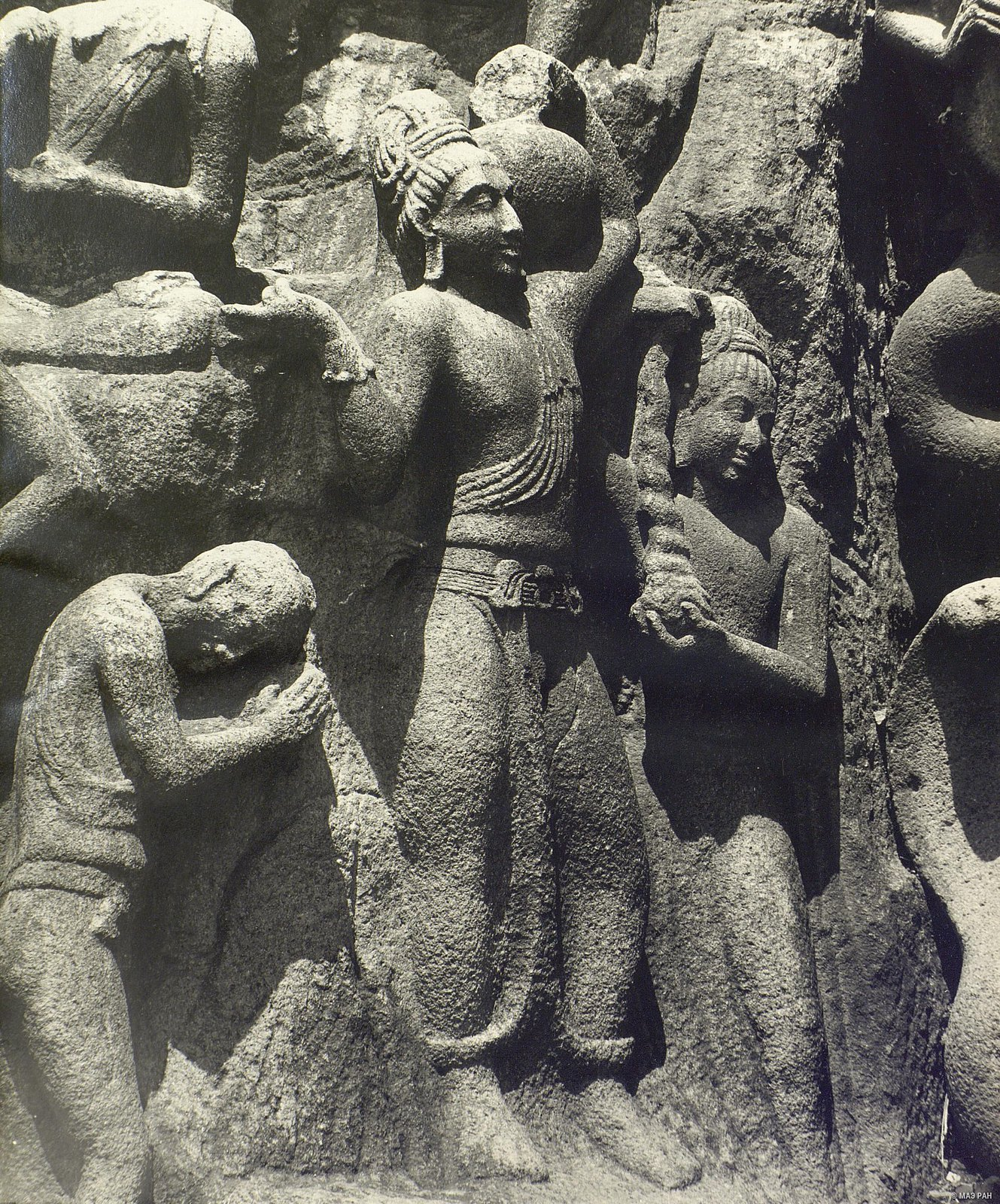 Мамаллапур (деталь рельефа) (2)