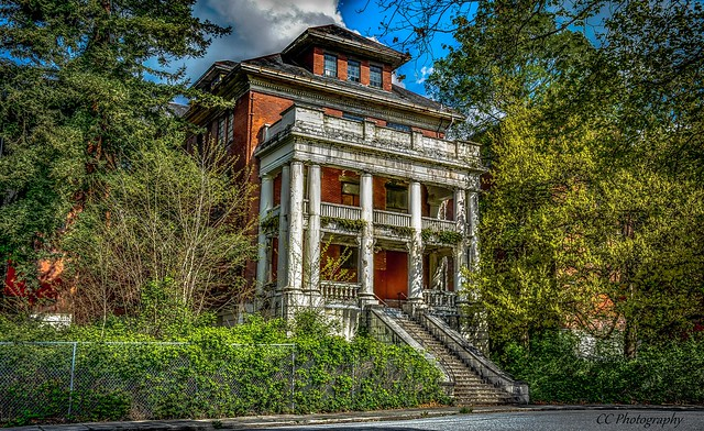 Riverview Hospital  c. 1913 - Fully decommissioned and abandoned Mental Hospital (3 of 3)