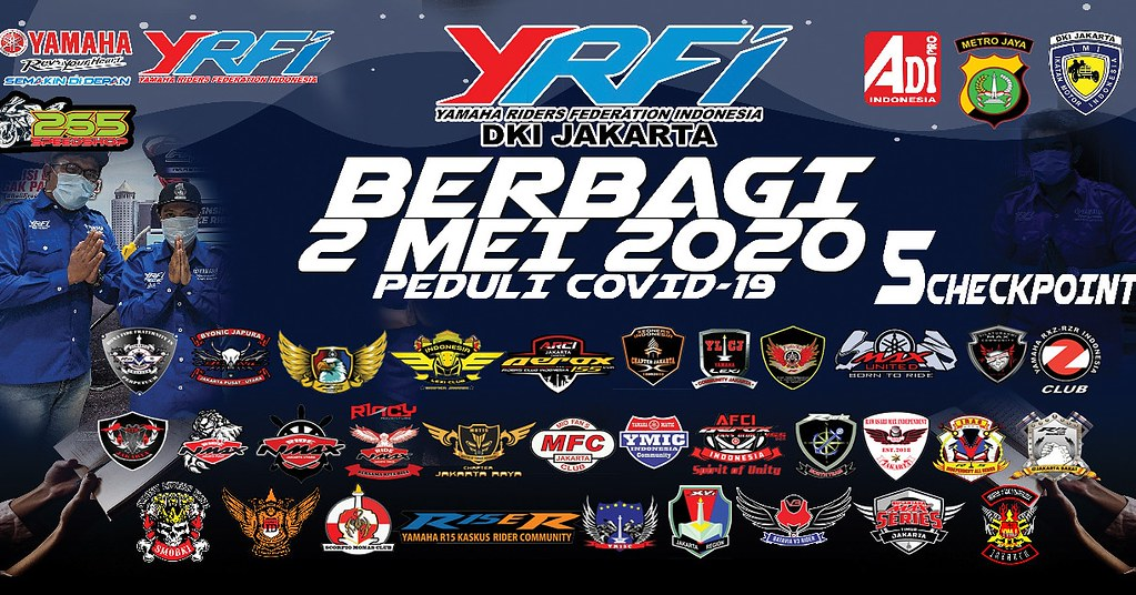 YRFI Jakarta Berbagi 2020 Peduli Covid-19
