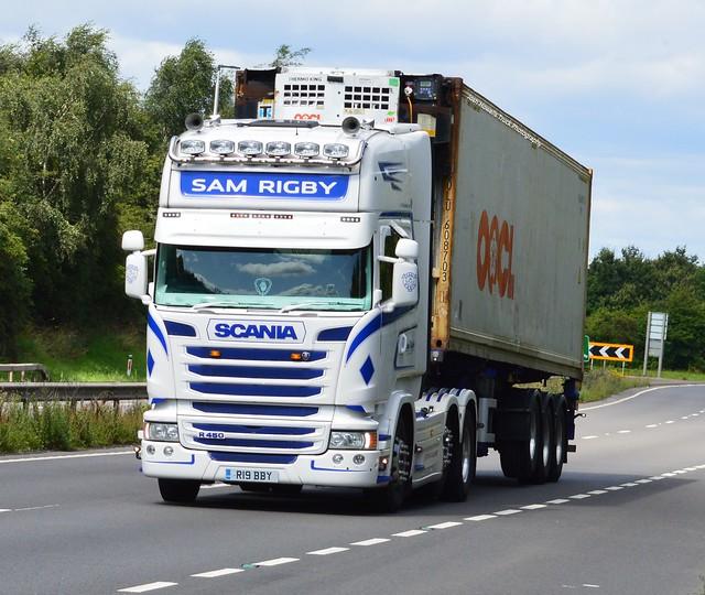 Sam Rigby R19 BBY On the A5 At Shrewsbury