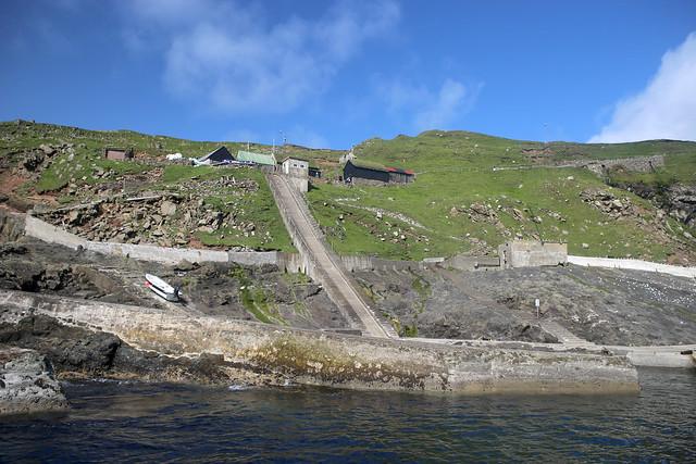 Mykines harbour