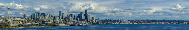 City Panorama - Seattle, Washington, USA