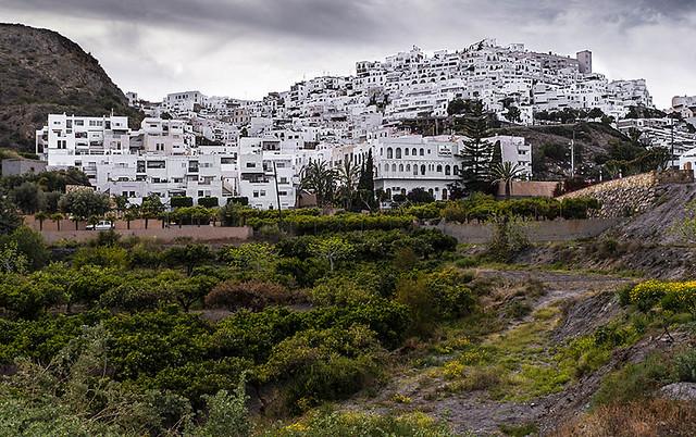 E4295-Pueblo blanco andaluz (Mojácar)