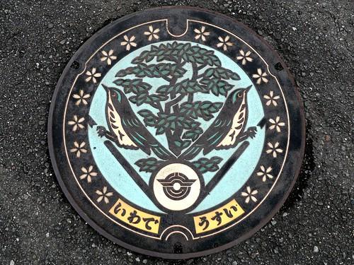 Iwade Wakayama, manhole cover 4 (和歌山県岩出市のマンホール4)
