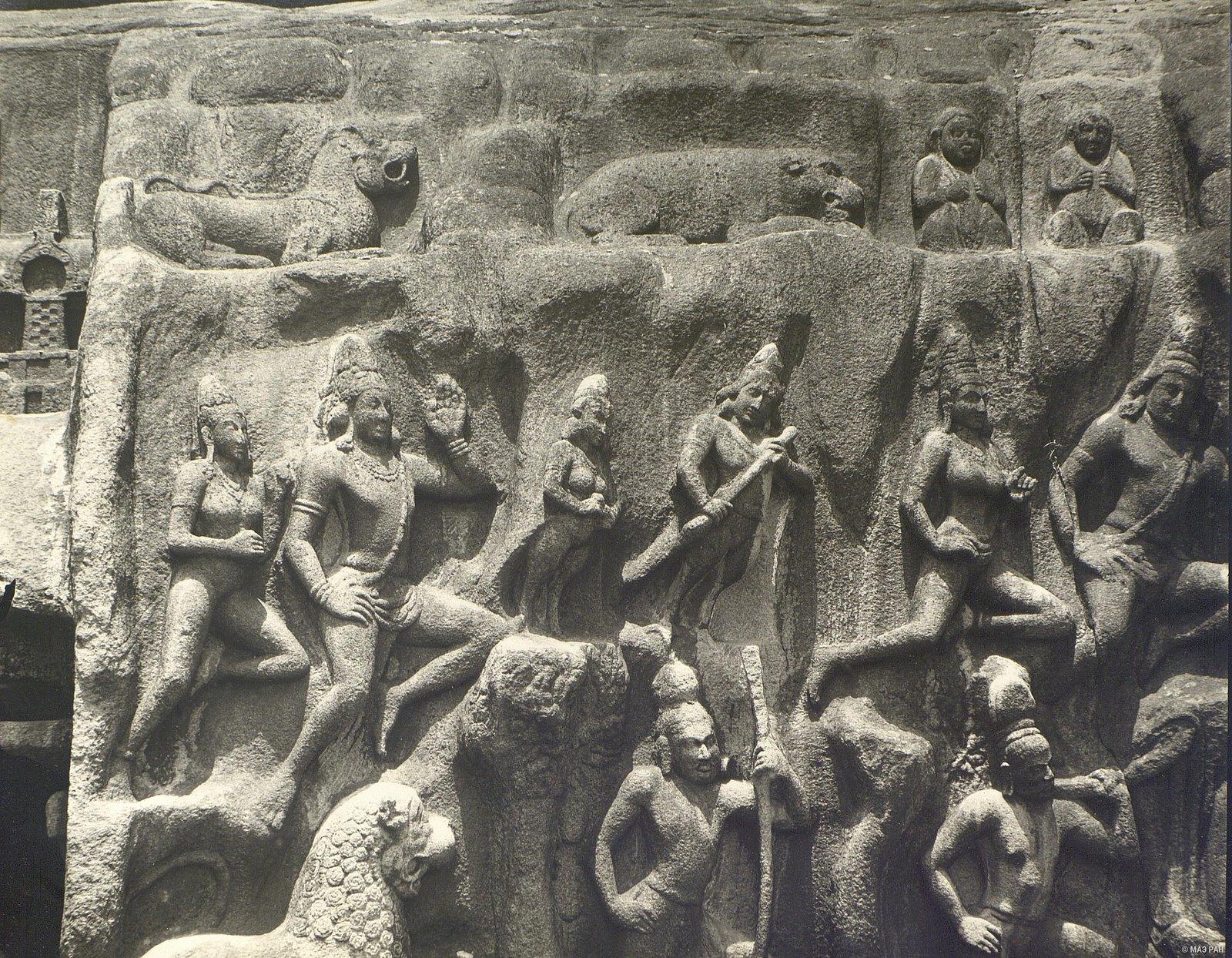 Мамаллапур (деталь рельефа) (14)