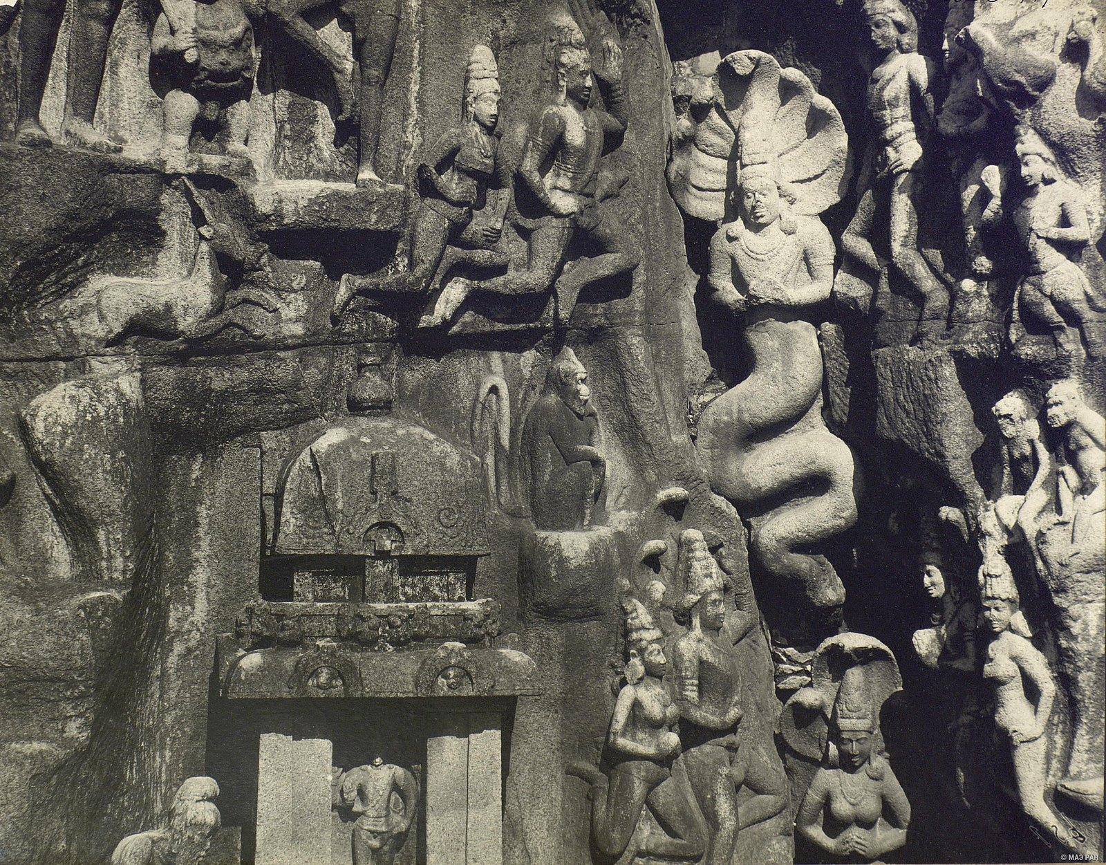 Мамаллапур (деталь рельефа) (6)