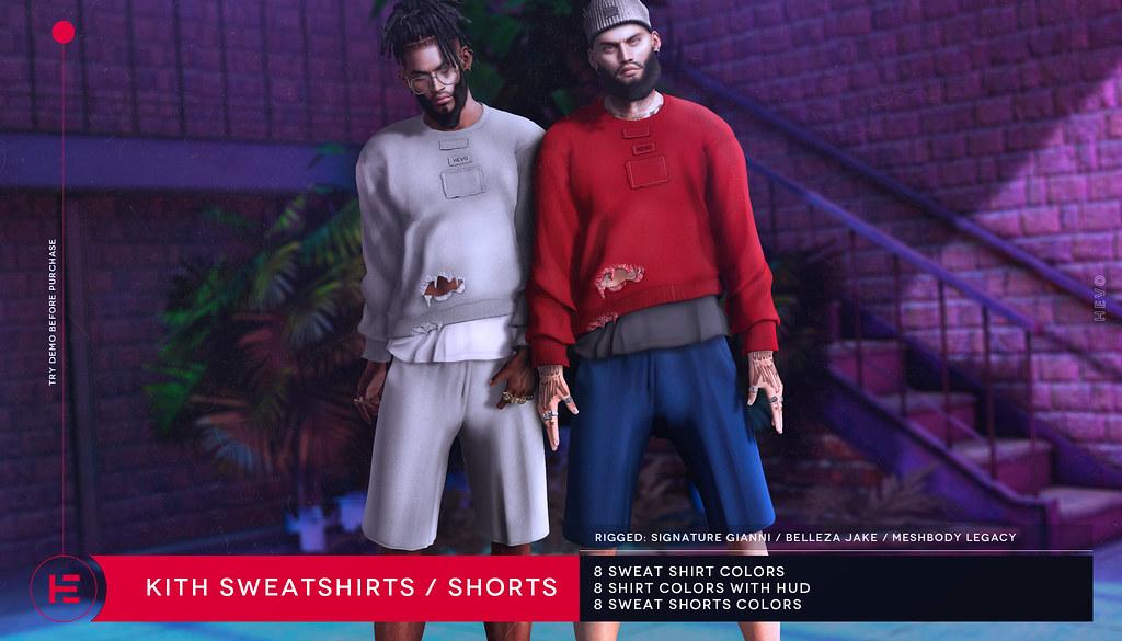 HEVO – Kith Sweatshirts / Shorts