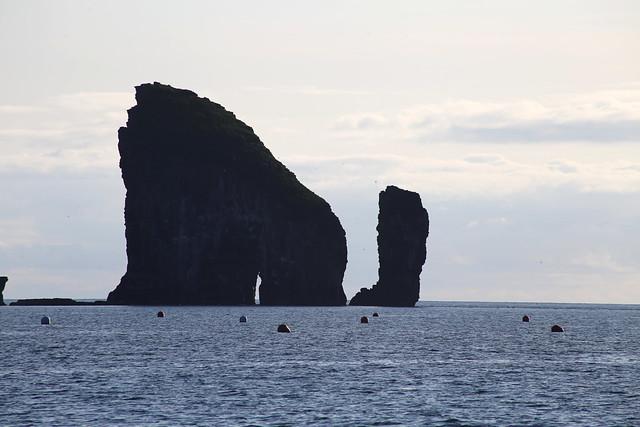 The coast near Mykines