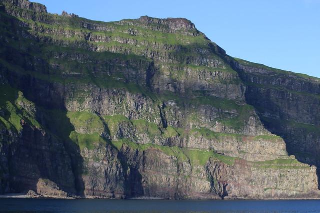 Cliffs near Mykines