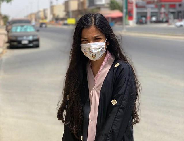 5608 COVID19 - I feel safer in Saudi Arabia than my country