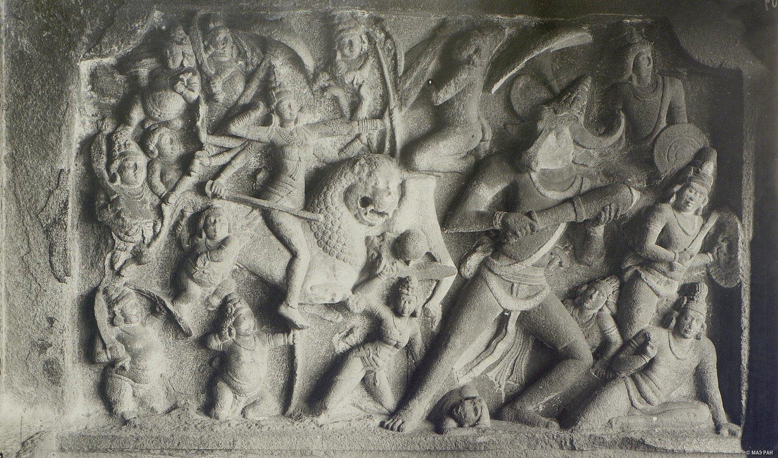 Мамаллапур (деталь рельефа)
