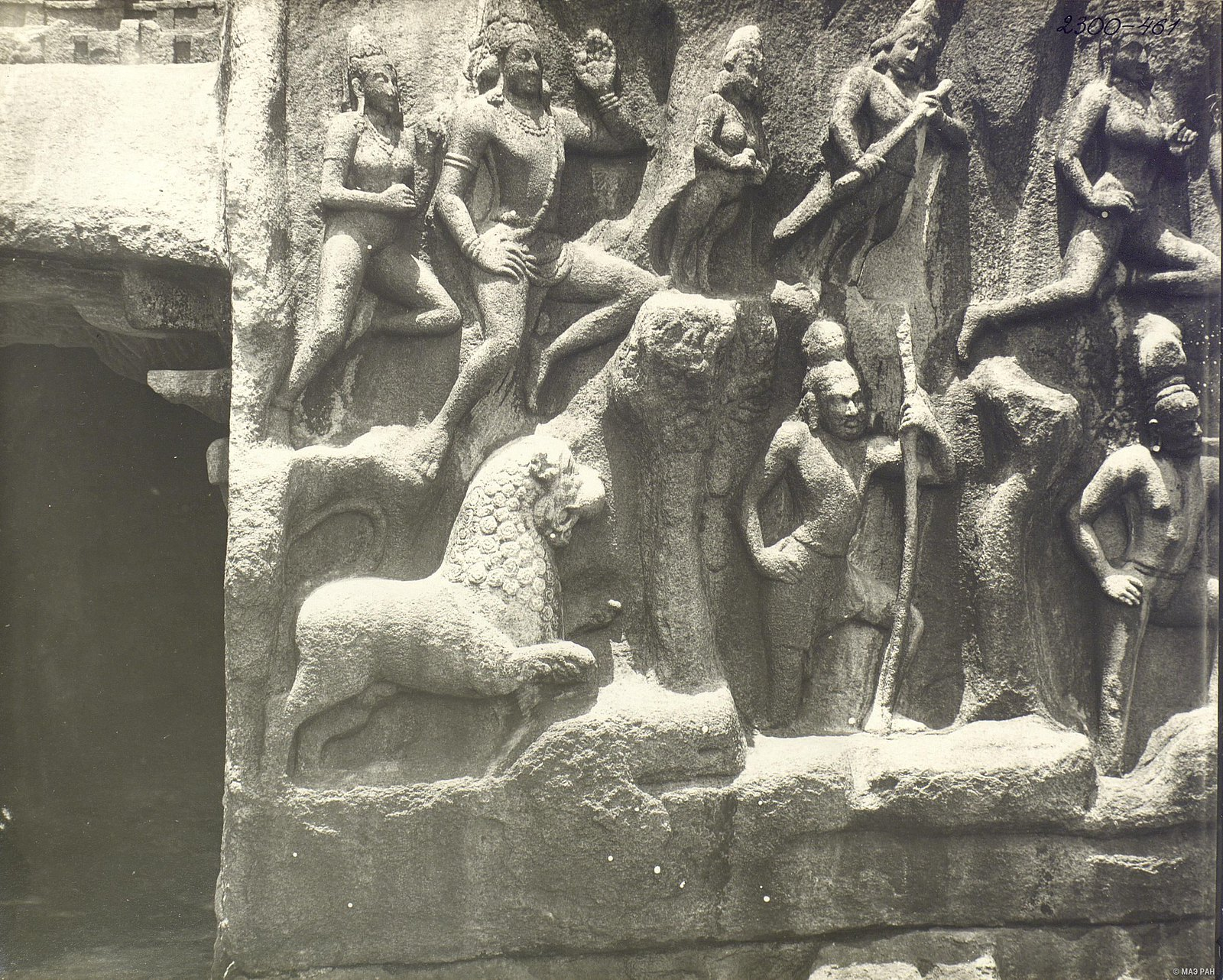Мамаллапур (деталь рельефа) (8)