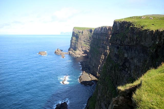 Cliffs on Mykines