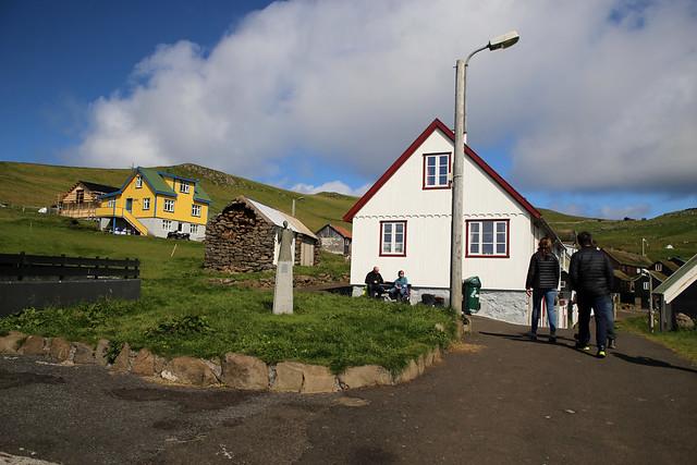 Mykines village