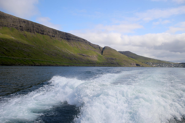 The coast in Sørvágsfjord