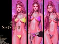 Narcisse Gigi MicroKini @ Fameshed
