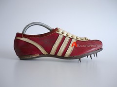 VINTAGE ADIDAS TEMPO TRACK SHOES / SPRINTER SPIKES