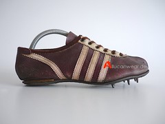 VINTAGE ADIDAS START TRACK SHOES / SPRINTER SPIKES
