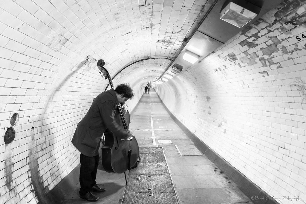 Melody - Greenwich foot tunnel, London, UK