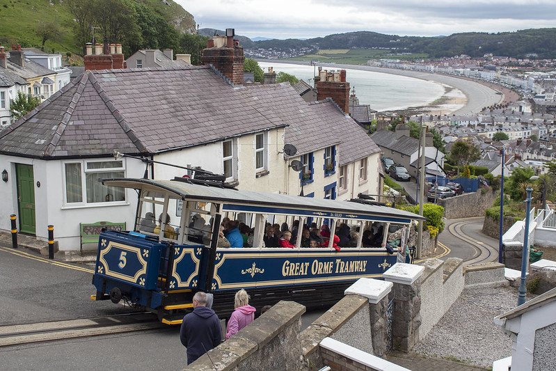 Great Orme Tramway 5 'St Silio' , Great Orme Llandudno 31.5.19 [2]
