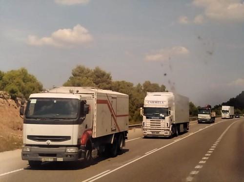 renault TRO a la carretera