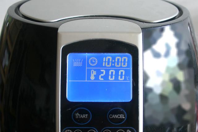19 - Bei 200 Grad frittieren / Deep-fry at 200 degrees