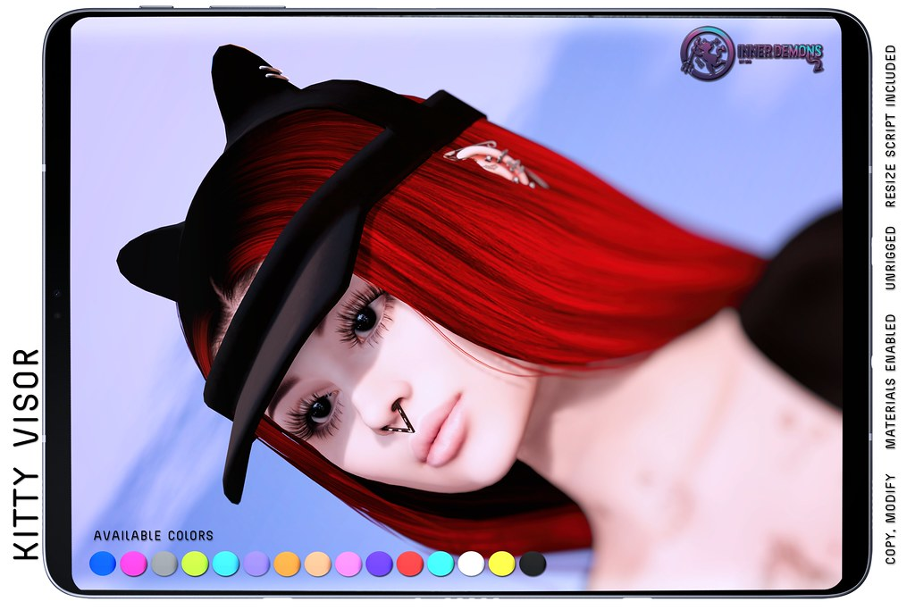{ID} Kitty Visor @ The Liaison Collaborative
