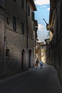 Via Cialdini - Montalcino, Tuscany.