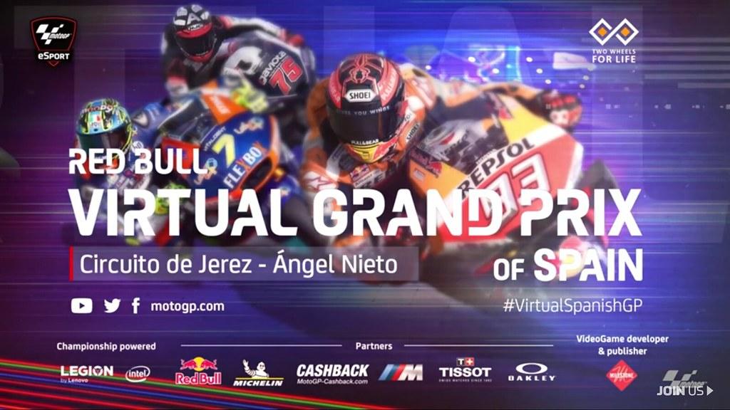 MotoGP Virtual Race Jerez De La Frontera