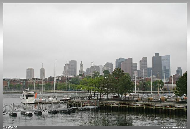 View to Boston
