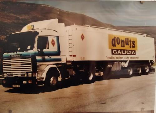 Scania donuts Galicia Sr Casas