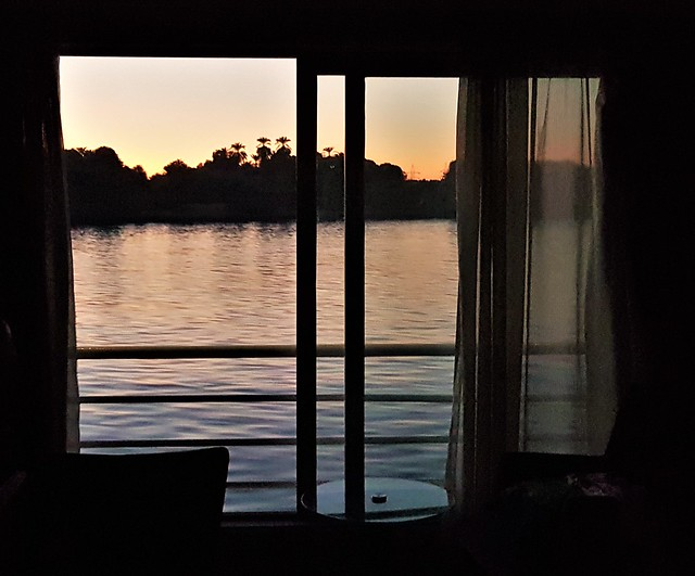 Dusk From Cruise Boat Cabin
