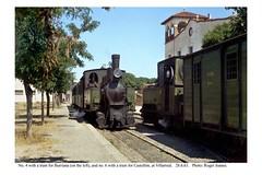 Villarreal. Trains for Castellón and Burriana. 28.6.63