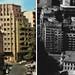 Blocul Gradinita/Str Bibliotecii nr 6 (Bucuresti) - efecte cutremur 1977