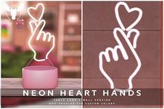 -MUSU- Neon Heart Hands!