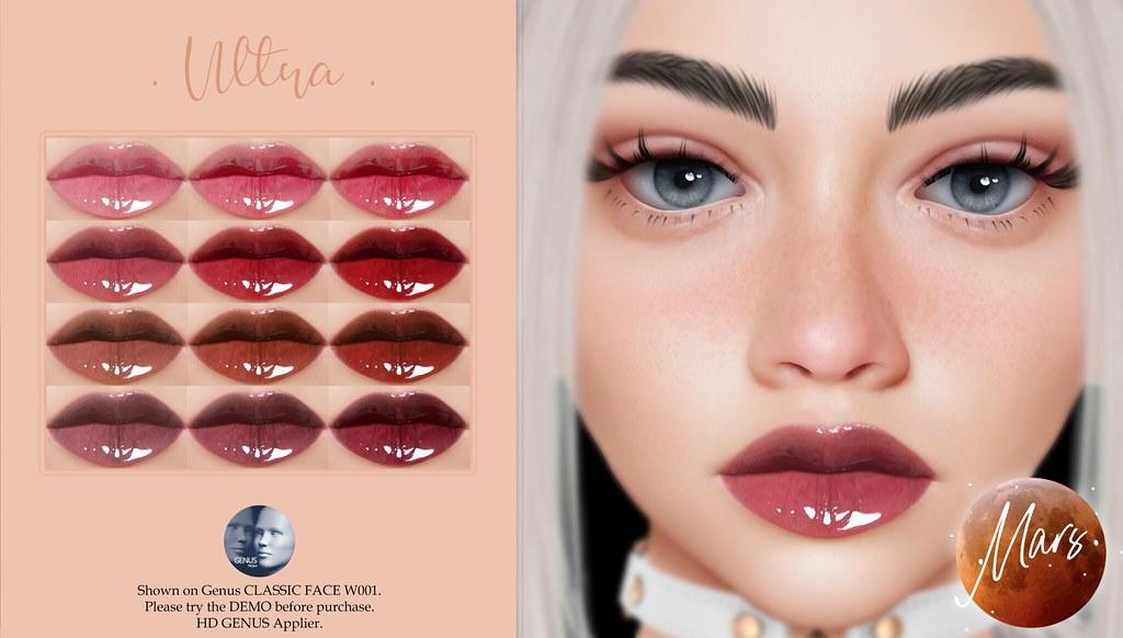 .Mars. – Ultra HD GENUS Lipstick
