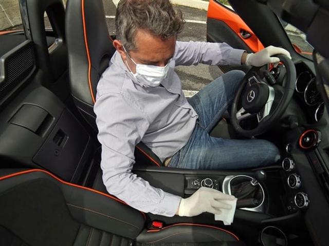 pulizia auto in periodo di coronavirus