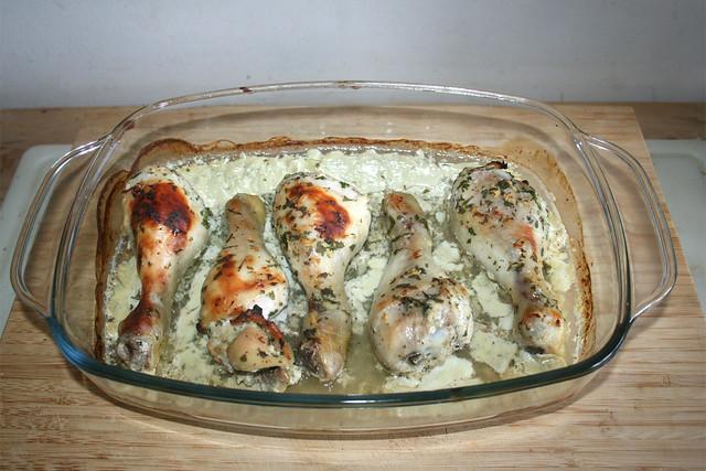 24 - Hähnchenschenkel - fertig gebacken / Chicken drumsticks - Finished baking