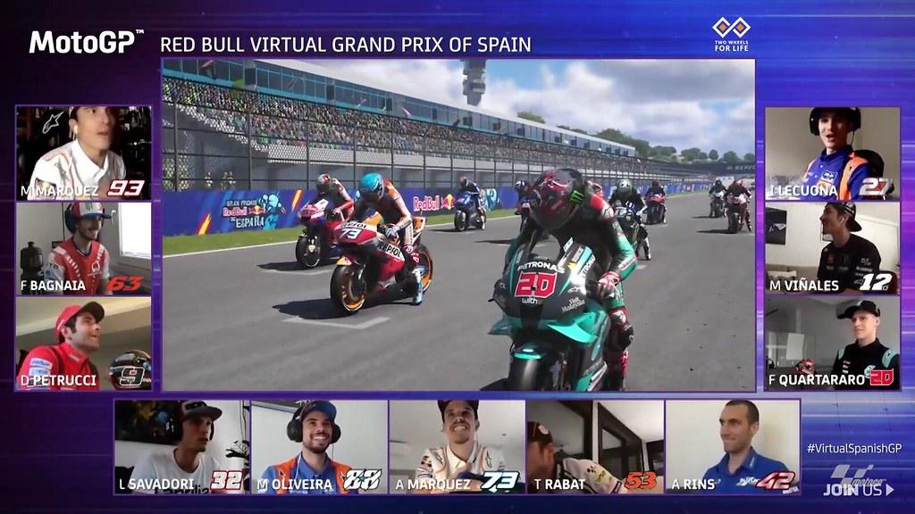 MotoGP Virtual Race Jerez De Start