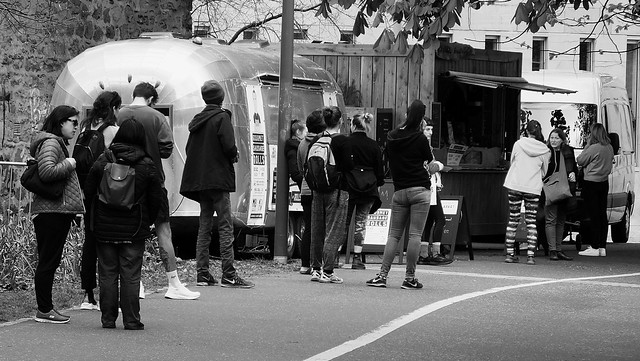The Line for Snacks 01