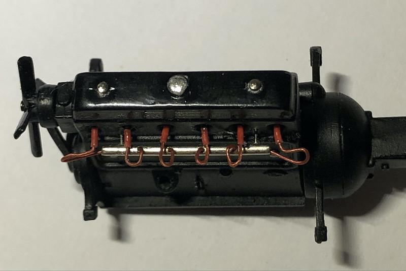 DELAHAYE Type 135 modèle 1938 ... Du scratch, du scratch, encore du scratch et toujours du scratch ! Réf 80707 49851740096_692d19b26b_c