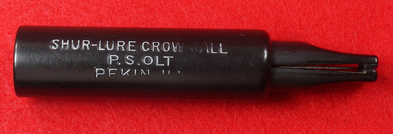 RD29657 P.S. Olt Shur-Lure Crow Call in Lohman Box DSC03508