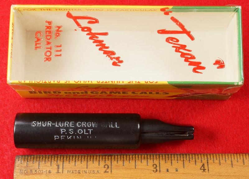 RD29657 P.S. Olt Shur-Lure Crow Call in Lohman Box DSC03505