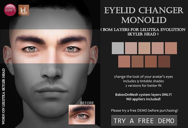 Eyelid Changer Monolid (LeLutka Evolution BOM)