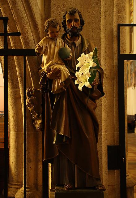 Melancholic Saint Joseph