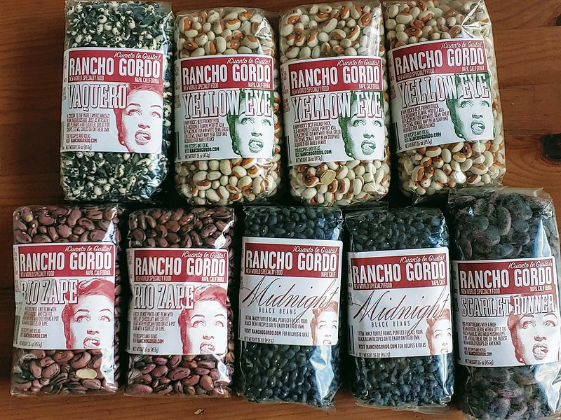 Rancho Gordo Dried Heirloom Beans Stock-up