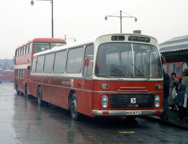 Northern 5028 in Sunderland Bus Station.