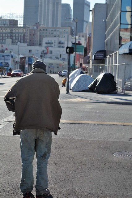 DTLA - Lonely Streets, Covid19