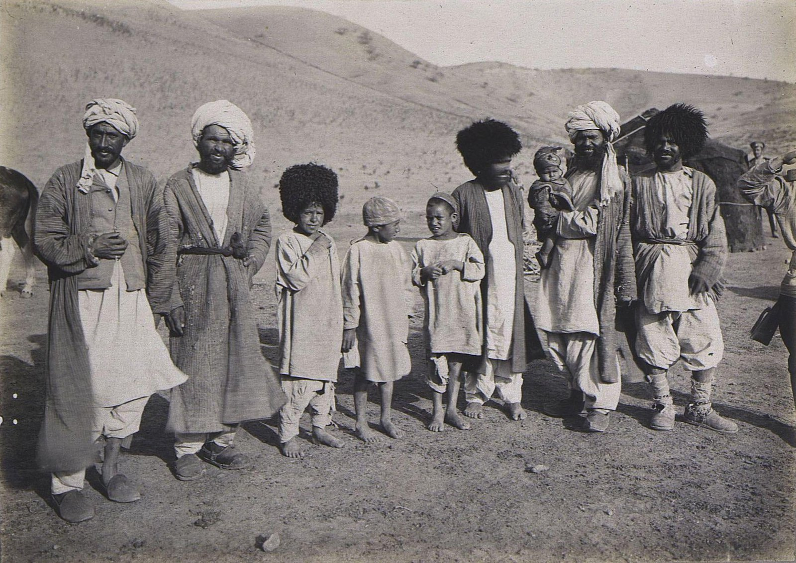 24. Группа туркменов