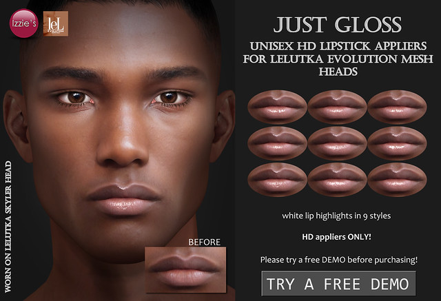 Just Gloss Unisex (LeLutka Evolution HD)